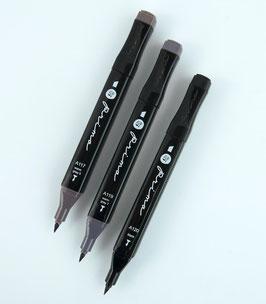 Prima Palette Marker Set: Jet Black