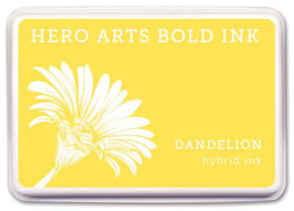 Hero Arts Bold Ink Pad: Dandelion