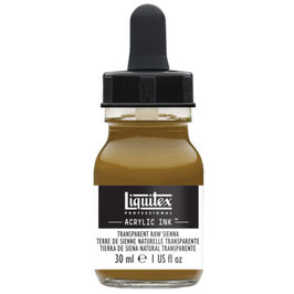 Liquitex Acrylic Ink - Transparent Raw Sienna