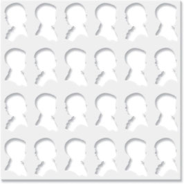 Jenni Bowlin Stencil : Silhouettes