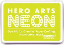 Hero Arts Neon Ink Pad - Chartreuse