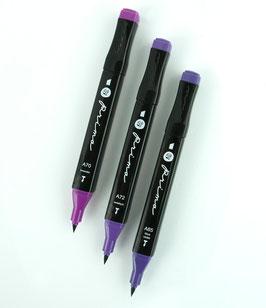 Prima Palette Marker Set: Violet