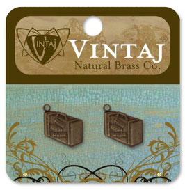 Vintaj Natural Brass Journey Case Charms (DP0015R)