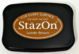 StazOn Ink Pad: Saddle Brown