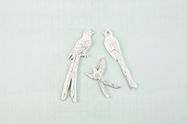 Resin Birds Shabby Chic Treasure