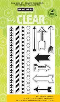Hero Arts Borders + Arrows