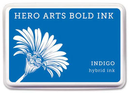 Hero Arts Bold Ink Pad: Indigo