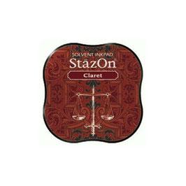 StazOn Midi Ink Pad: Claret