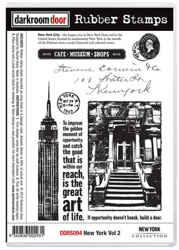 Darkroom Door Stamp Set - New York Vol.2