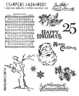 Tim Holtz Stamps - Mini Holidays 3