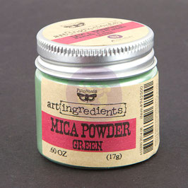 Finnabair Art Ingredients Mica Powder - Green