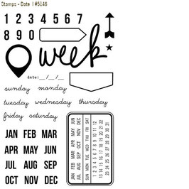 Simple Stories DIY Stamps: Date