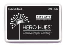 Hero Arts India Ink Black Dye Ink Pad