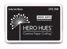 Hero Arts India Ink Black Dye Ink Pad