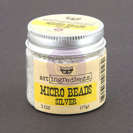 Art Ingredients Micro Beads  - Silver