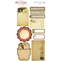Glitz Design Joyeux Noel Journaling Stickers
