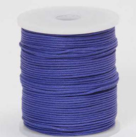 Violet waxed cord