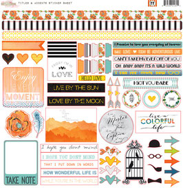 Glitz Design 77 Titles & Accents Stickers