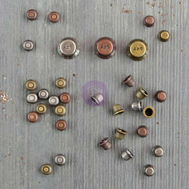 Finnabair Vintage Mechanicals: Mini Knobs
