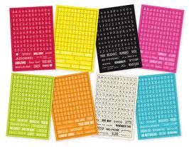 Simple Stories DIY Stickers: Typeset