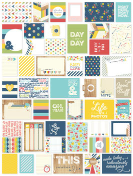 Simple Stories Life Documented Day to Day Card Set