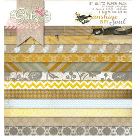 Glitz Design Sunshine In My Soul 8x8 Paper Pad