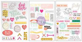 Instascrap Stickers : Love