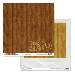 Glitz Design: Color Me Happy Woodgrain