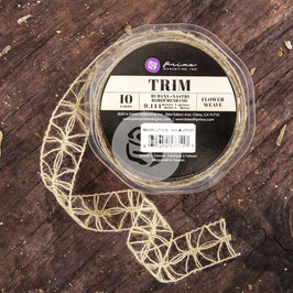 Prima Weave Trim - Flower