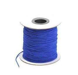 Coloured Elastic Cord - Royal Blue