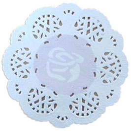 Prima Paper Doily White 100pc