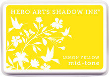 Hero Arts Lemon Yellow Mid Tone Shadow Ink Pad