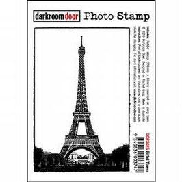 Darkroom Door Photo Stamp: Eiffel Tower