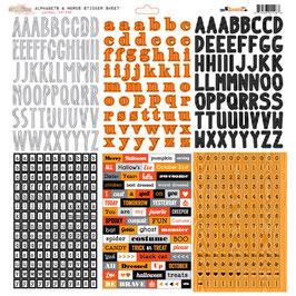Glitz Designs Raven Alphabets & Words