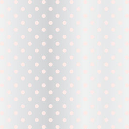 Teresa Collins Signature Essentials Clear Paper:  Dots Blush