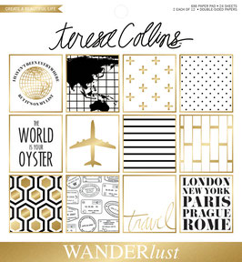 Teresa Collins Wonderlust 6x6 Paper Pad