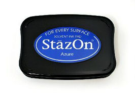 StazOn Ink Pad: Azure