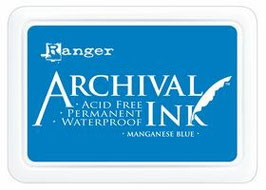 Archival Ink : Manganese Blue