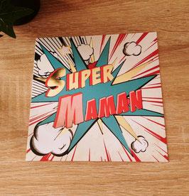 Carte postale Super Maman