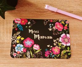 Carte postale merci maman
