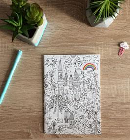 Cahier A5 à colorier