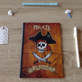 Cahier pirate journal A5