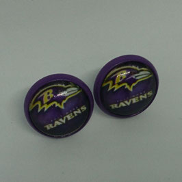 Ohrstecker Baltimore Ravens