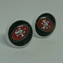 Ohrstecker San Francisco 49ers