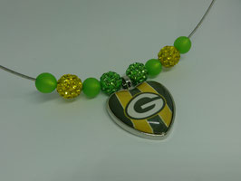 Kette mit Greenbay Packers Anhänger