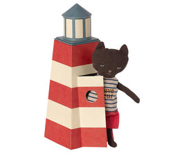 Maileg Sauveteur, Tower with Cat 16-1900-00