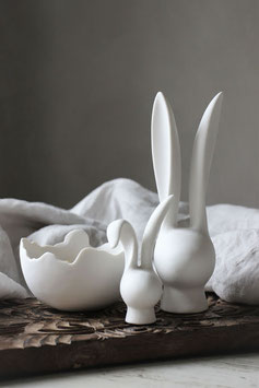 Decor Bunny matt white