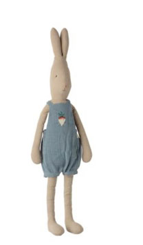 Maileg Hase Rabbit size 4. overalls 16-0420-00