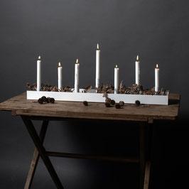 Storefactory 7er Kerzenhalter länglich