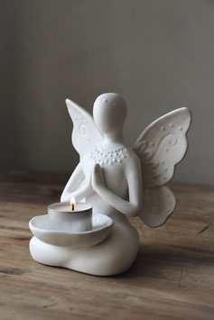 Yoga Butterfly matt white MS240144